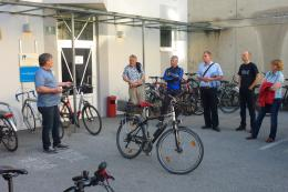 Information Events regarding Bicycle Transport