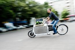Use cycle logistics for deliveries