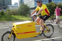 Use of cycle logistics for own deliveries